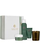 Rituals The Ritual of Jing Geschenkset Body Scrub 125 ml + Body Cream 70 ml + Shower Gel 200 ml + Candle