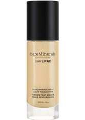 bareMinerals BAREPRO 24-Hour Full Coverage Liquid Foundation SPF20 30ml 12 Warm Natural (Light/Medium, Neutral)
