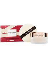 LAURA MERCIER Set To Perfect Translucent Setting Powder & Puff Holiday 2020 Gesicht Make-up Set  1 Stk no_color