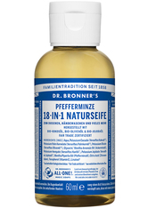 DR. BRONNER'S - Dr. Bronner's Flüssigseife Pfefferminze 59 ml - Handseife - SEIFE