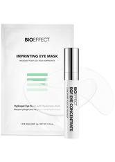 BIOEFFECT EGF Eye Mask Treatment = EGF Eye Serum 3 ml + 8 x 2 Eye Masks 2 Artikel im Set Augenpflegeset