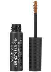 BAREMINERALS - bareMinerals Augenbrauen Strength & Length Brow Gel 5 ml Chestnut - Augenbrauen