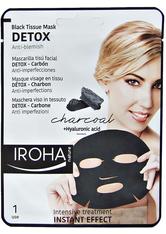 IROHA - Iroha Black Tissue Mask Detox - MASKEN