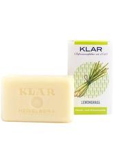 KLAR Seifenmanufaktur Palmölfreie Seifen Lemongrasseife 100 g
