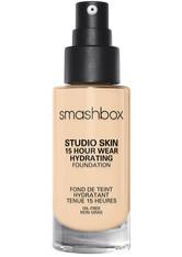 Smashbox Studio Skin 24 Hour Wear Hydra Flüssige Foundation 30 ml Nr. 1.05 - Fair With Warm Olive Undertone