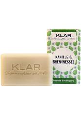 Klar Seifen Produkte Festes Shampoo - Kamille & Brennnessel 100g Seife 100.0 g