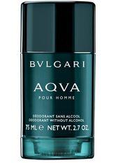 Bvlgari Aqva Pour Homme Deodorant Stick (ohne Alkohol) 75 ml