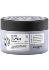 Maria Nila Care & Style Sheer Silver Sheer Silver Masque 250 ml