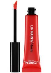 L'ORÉAL PARIS - L'Oréal Paris Infallible Lip Paint 8ml (verschiedene Farbtöne) - 203 Tangerine Vertigo - LIQUID LIPSTICK