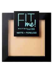 Maybelline Fit Me Matte & Poreless Powder (verschiedene Farbtöne) - 115 Ivory - MAYBELLINE