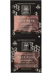 APIVITA Express Purifying Face Mask for Oily Skin - Propolis 2x8ml