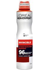 L'ORÉAL PARIS MEN EXPERT - L'Oreal Men Expert Invincible 96 StundenDeodorant Spray 250 ml - DEODORANTS