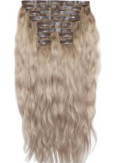 BEAUTY WORKS - Beauty Works 22 Inch Beach Wave Double Hair Extension Set (Various Shades) - Scandinavian Blonde - Extensions & Haarteile
