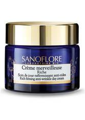 SANOFLORE - Sanoflore Crème Merveilleuse Rich Firming Anti-Ageing Moisturiser 50 ml - TAGESPFLEGE