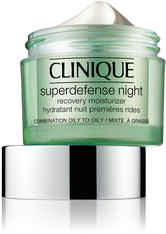 CLINIQUE - Clinique Pflege Feuchtigkeitspflege Superdefense Night Recovery Moisturizer Hauttyp 3/4 50 ml - NACHTPFLEGE