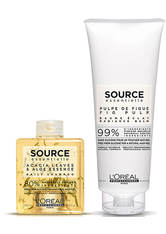 L'OREAL PROFESSIONAL - L'Oréal Professionnel Source Essentielle Daily Colour Radiance Duo - HAARPFLEGESETS