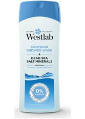 WESTLAB - Westlab Soothing Shower Wash with Pure Dead Sea Salt Minerals 400 ml - KÖRPERPEELING