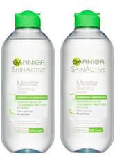 Garnier Micellar Water Facial Cleanser Combination Skin 400ml Duo Pack