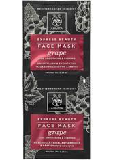 APIVITA Express Line Reducing Face Mask - Grape 2x8ml