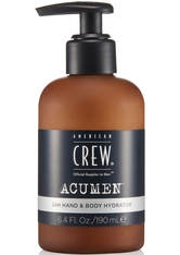 AMERICAN CREW Acumen - Feuchtigkeitspflege 24H Hand &amp Body Hydrator 190 ml