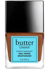 BUTTER LONDON - butter LONDON Sheer Wisdom Nail Tinted Moisturiser 11ml - Deep - NAGELLACK