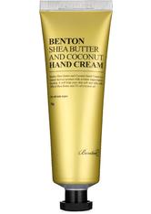 Benton Produkte BENTON Shea Butter And Coconut Hand Cream Creme 50.0 g