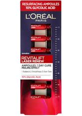 L'Oréal Paris Revitalift Laser Ampoules 10% Glycolic Acid Peel Monthly Pack - Exclusive