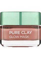 L'ORÉAL PARIS - L'Oreal Paris Pure Clay Glow Face Mask 50ml - CREMEMASKEN