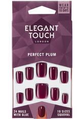 Elegant Touch Perfect Plum Nails