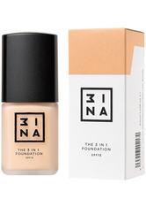 3INA 3-in-1 Foundation 30ml (verschiedene Farbtöne) - 210