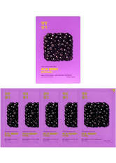 Holika Holika Pure Essence Mask Sheet (5 Masks) 155ml (Various Options) - Acai Berry