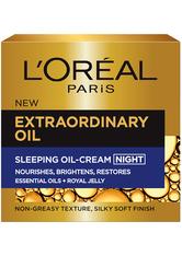 L'ORÉAL PARIS - L'Oréal Paris Extraordinary Oil Sleeping Oil-Cream Night 50ml - Nachtpflege