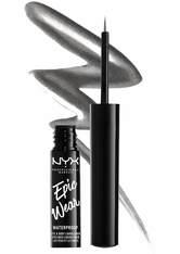 NYX Professional Makeup Epic Wear Metallic Liquid Liner 3.5ml (Various Shades) - Gun Metal