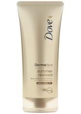 DOVE - Dove DermaSpa Summer Revived Body LotionMittlere bis DunkleSkin (200ml) - Körpercreme & Öle