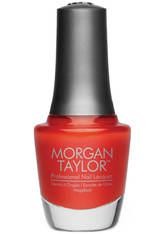 MORGAN TAYLOR - Morgan Taylor Amber Rush Nail Lacquer 15 ml - NAGELLACK