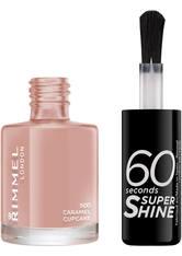 Rimmel 60 Seconds Super Shine Nail Polish 8 ml (verschiedene Farbtöne) - Caramel Cupcake