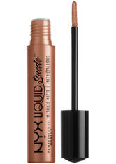 NYX Professional Makeup Liquid Suede Matte Metallic Lipstick (verschiedene Farbtöne) - Exposed