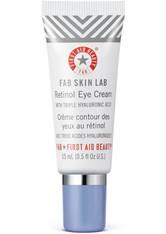 First Aid Beauty FAB Skin Lab Retinol Eye Cream with Triple Hyaluronic Acid 15ml
