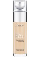 L'Oreal Paris True Match Liquid Foundation with SPF & Hyaluronic Acid 30ml 3W Golden Beige