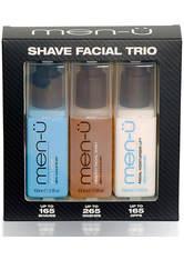 MEN-U - men-ü Shave Facial Trio Set - RASIERSCHAUM & CREME