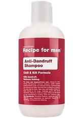 Recipe for men Produkte Anti-Dandruff Shampoo Haarshampoo 250.0 ml