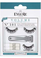 EYLURE - Eylure - Falsche Wimpern - Volume - Starter Kit No.101 - FALSCHE WIMPERN & WIMPERNKLEBER