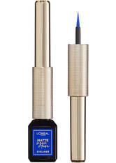 L'ORÉAL PARIS - L'Oréal Paris Matte Signature Liquid Eyeliner 3ml (Various Shades) - 02 Blue - Eyeliner