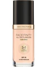 Max Factor Facefinity All Day Flawless Foundation 30ml (Various Shades) - Fair Porcelain