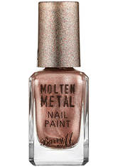 BARRY M - Barry M Cosmetics Molten Metal Nail Paint - Pink Ice - NAGELLACK