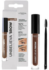 L'ORÉAL PARIS - L'Oréal Paris Unbelievabrow Long-Lasting Brow Gel 3.4ml (Various Shades) - 105 Brunette - Augenbrauen