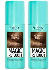 L'Oréal Paris Magic Retouch Golden Brown Root Concealer Spray Duo Pack