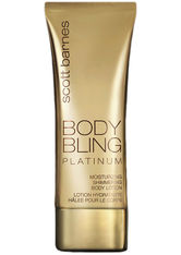 SCOTT BARNES - Scott Barnes Body Bling Shimmering Lotion Original Platinum 120ml - KÖRPERCREME & ÖLE