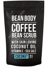 BEAN BODY - Bean Body Coffee Bean Scrub 220g - Coconut - KÖRPERPEELING
