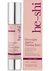 HE-SHI - He-Shi Overnight Ageless Tanning Balm 50ml - Selbstbräuner